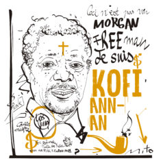 Kofi Annan no es Morgan Freeman