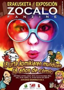 Exposición ZOCALO Fanzine: 18 años de cómic