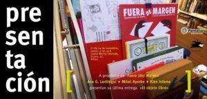Presentación de «El objeto libro» en Bilbao