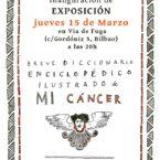 Exposición Breve Diccionario Enciclopédico de Mi cáncer