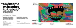 Luis de Ajuria Aretoa '2019 IRUDIKA egoitzen' erakusketa