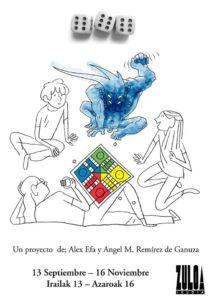 Expo Angel M Ramírez de Ganuza y Alex Efa