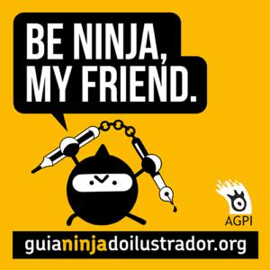 AGPI lanza la 'Guía Ninja do Ilustrador'