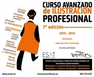 Curso de Ilustración en el ESAT de Valencia
