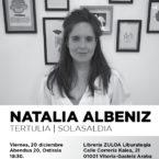 Charla de Euskal Irudigileak con Natalia Albéniz
