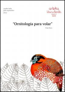 "Exposición ""Ornitología para volar"" Unai Zoco"