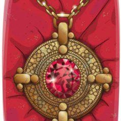 Medallon-Txano y Oscar-El conjuro escarlata